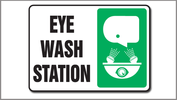 EYE WASH STATIONS IN DENTAL OFFICES