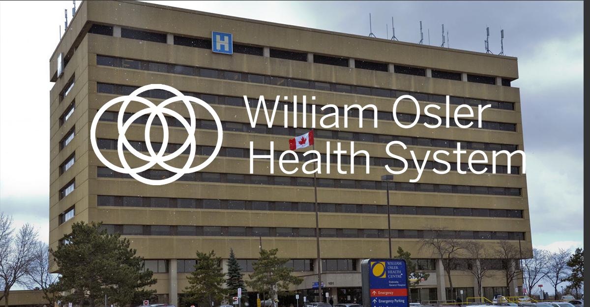 Wiliam Olser Health Centre Etobicoke